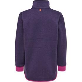 LEGO wear Saxton 772 Fleece Cardigan Girl Dark Purple